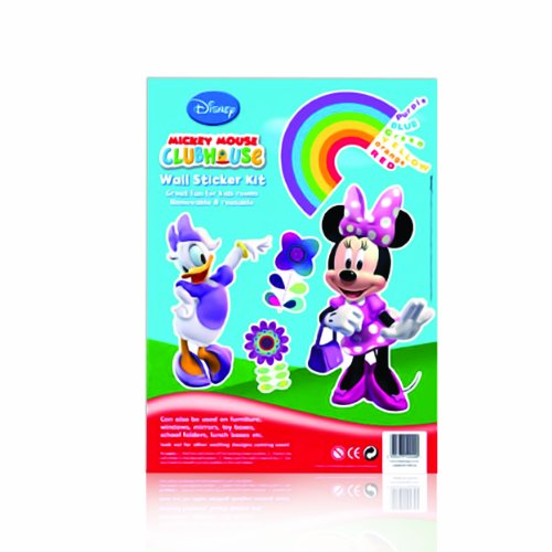 Disney Mickey Mouse Clubhouse Wall Sticker Kit - (Minnie & Friends)