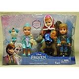 Disney Frozen Toddler Dolls Deluxe Collector Gift Set Exclusive Elsa Anna Sven Kristoff Olaf
