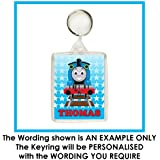 Personalised THOMAS THE TANK ENGINE Keyring / Bag Tag - Ideal for School Bags, Lunch Boxes etc.