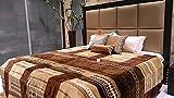 Tima Velvet Double Comforter- Brown