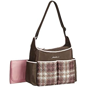 Eddie Bauer Cicely Hobo Diaper Bag