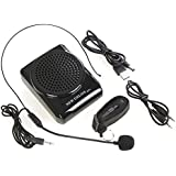 Mini Amplificador portatil trabajar de forma continua durante 8-15 horas con un microfono para guías , maestros , profesores , artistas, animadores , promotores de ventas , etc