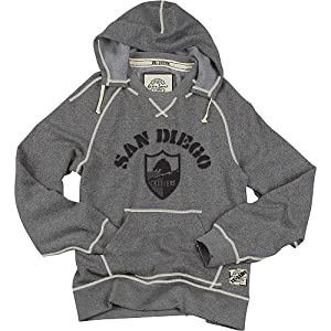 Reebok San Diego Chargers Re-Issue Hooded Crew Sweatshirt by Reebok