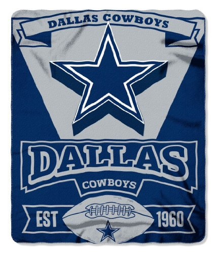 Dallas Cowboys 50X60 Fleece Blanket - Marque Design (Please See Item Detail In Description)