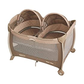 Graco Pack N' Play Playard with Twins Bassinet, Kensington