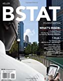 BSTAT (with Review Cards and Printed Access Card) (0538479825) by Keller, Gerald