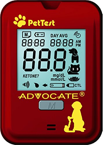 Advocate Pet Test Blood Glucose Monitoring System For Dogs
