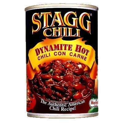 Stagg Chili Dynamite Hot Chili Con Carne 410G by Hormel Foods (Hormel Chili Con Carne compare prices)