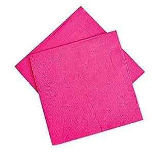 Rhode Island Novelty Hot Pink Beverage Napkins