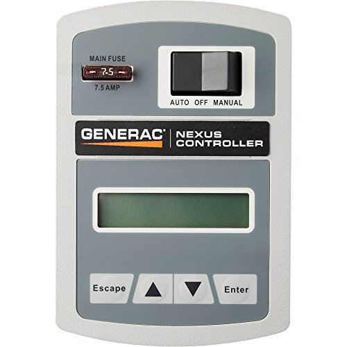 Generac Guardian Series 5873 17,000 Watt Air-Cooled Liquid Propane/Natural Gas Powered Standby...