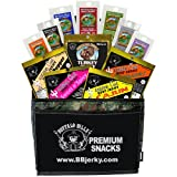 Buffalo Bills 1.75oz Beef Jerky Camo 6-Pack Gift Cooler (filled with 12 assorted jerky packs)