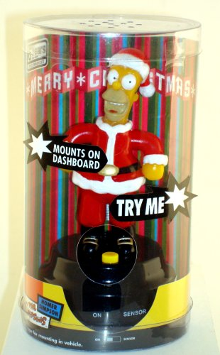 Gemmy Dashboard Talking Xmas Homer Simpson - Buy Gemmy Dashboard Talking Xmas Homer Simpson - Purchase Gemmy Dashboard Talking Xmas Homer Simpson (Gemmy Toys, Toys & Games,Categories,Activities & Amusements,Gags & Practical Jokes)