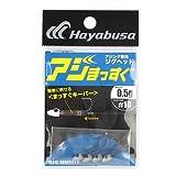 ハヤブサ(HAYABUSA) アジまっすぐ FS215 0.5g #10 上黒
