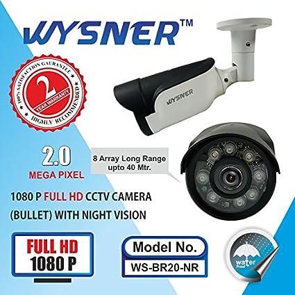 Wysner WS-BR20-NR 2MP Bullet CCTV Camera