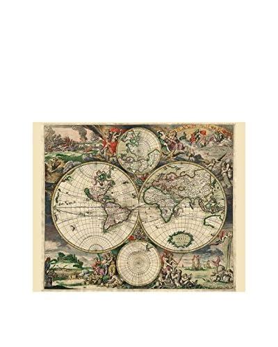 LINEA ARTISTICA canvas foto Visscher Nicolao 1658