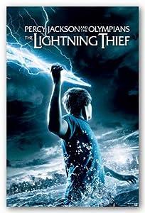 Percy Jackson & the Olympians: The Lightning Thief Movie (Holding Lightning) Poster - 22x34