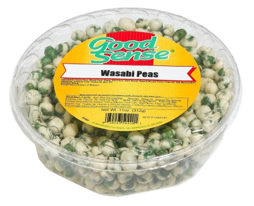Buy Good Sense Tubs, Wasabi Peas, 11-Ounce Tubs (Pack of 4) (Good Sense, Health & Personal Care, Products, Food & Snacks, Snacks Cookies & Candy, Snack Food)