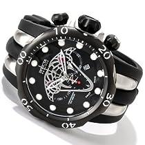 Invicta Mens Reserve Venom Viper Swiss Made Chronograph Polyurethane Strap Watch 0973