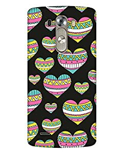 Print Haat Back Cover for LG G3 Mini (Multi-Color)