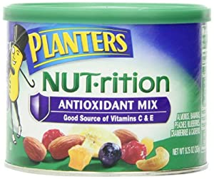 Planters Nut.rition Antioxidant Mix, 9.25 Ounce Canister (Pack of 2)