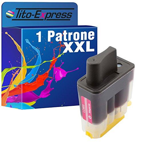 PlatinumSerie® 1x Tinten-Patrone XXL Magenta kompatibel für Brother LC900 DCP-310 MFC-820CW MFC-830 MFC-210 MFC-215 MFC-422