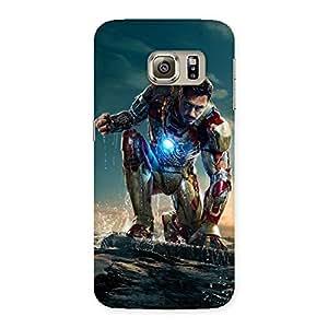 Ajay Enterprises Style Genius Multicolors Back Case Cover for Samsung Galaxy S6 Edge