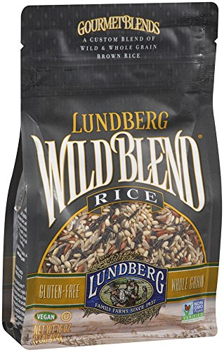 Lundberg Wild Blend Rice, 16 Ounce (Pack of 6) (Lundberg Rice Red compare prices)