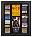 The Beatles Framed Presentation | Details: 1964 U.S. Tour, with 23 Replica Concert Tickets - Mounted Memories Certified Amazon.com