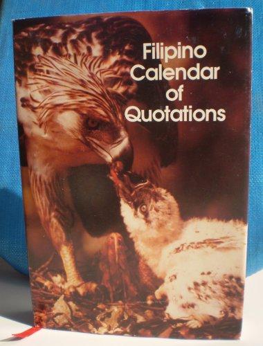 """Filipino Calendar of Quotations"""