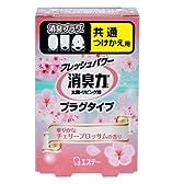消臭力 プラグタイプ 消臭芳香剤 つけかえ 華やかなチェリーブロッサムの香り 20ml