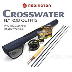 Redington Crosswater 690-4 Fly Rod Outfit (9