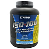 Dymatize Nutrition ISO 100,Smooth Banana, 5-Pound