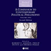 A Companion to Contemporary Political Philosophy | [Philip Pettit, Robert E Goodin]