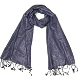 Women Scarf - Glittering Scarves - Sparkly Pashminas - Scarves for Women & Girls