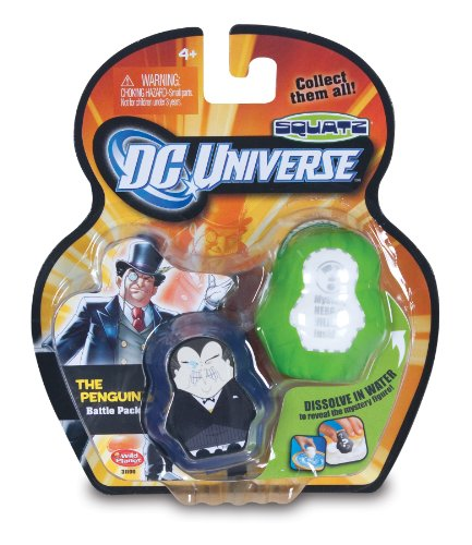 DC Universe Squatz -  Penguin and Mystery Character - 1