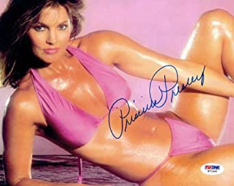Priscilla Presley Signed Sexy Authentic Autographed 8x10 Photo PSA/DNA