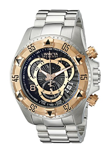 invicta-mens-10998-excursion-reserve-chronograph-black-textured-dial-stainless-steel-watch