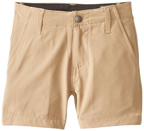 Volcom Little Boys' Frickin V4S Short, Dark Khaki, 4T