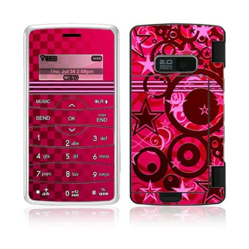 Circus Stars Decorative Skin Cover Decal Sticker for LG enV2 VX9100 Cell Phone