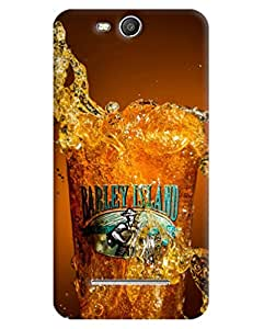 FurnishFantasy 3D Printed Designer Back Case Cover for Micromax Canvas Juice 3,Micromax Canvas Juice 3 Q392