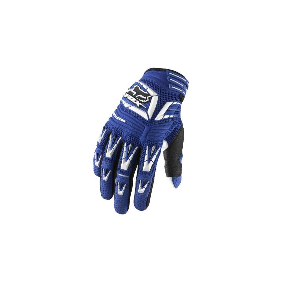 Fox Racing Pawtector Mens MX/Off Road/Dirt Bike Motorcycle Gloves   Blue / Small