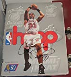 1996 Alonzo Mourning Miami Heat Signed Hoop Program Magazine Coa Autographed - Autographed NBA Magazines at Amazon.com