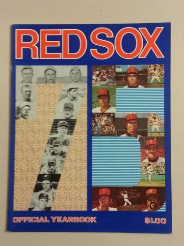 1975 Red Sox Yearbook Boston Red Sox Excellent to Excellent Plus at Amazon.com