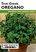 Lake Valley 212 Oregano True Greek Heirloom Seed Packet
