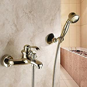 KUKU Shower Faucet/Bathtub Faucet Traditional Handshower Included