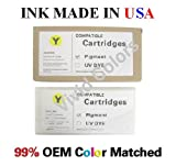 New 200ml Compatible ink cartridges for Epson Stylus Pro 4900-Yellow(T6534)