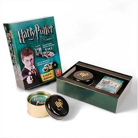 Harry Potter 5 - 107935907 - Coffret Grimoire Edition Limitée - Jeu 4 En 1 + Jeu Du Quidditch