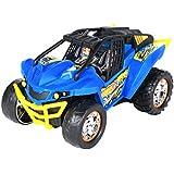 Toy State - Hot Wheels-High Jump R/C Body Blue Radio Control Vehicle