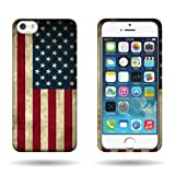 CoverON® Hard Slim Design Case for Apple iPhone 5 5s – with Cover Removal Pry Tool – Blue Red USA Flag Reviews