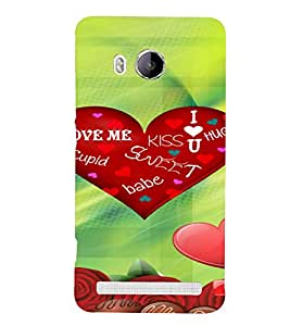 PrintVisa Love Heart Rose Chocolate Design 3D Hard Polycarbonate Designer Back Case Cover for Vivo Xshot